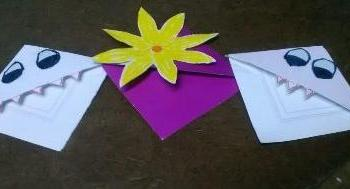 Origami kusudama flower bookmark timepass tuesdays i am stri corner bookmarks tt 3 mightylinksfo