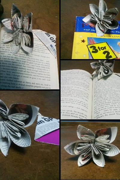 Origami kusudama flower bookmark timepass tuesdays i am stri the origami flower is not something that i created newly it is already available in the origami instructions site all over the internet mightylinksfo