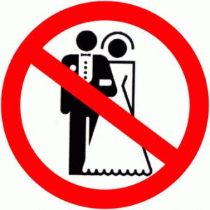 NO TO WEDDINGS