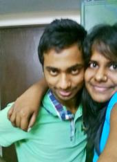 Me & Rahul - He says he is my brother and not nephew :P :D