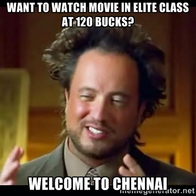 Chennai - Escape!!