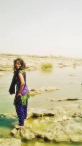 Me in Tungabhadra
