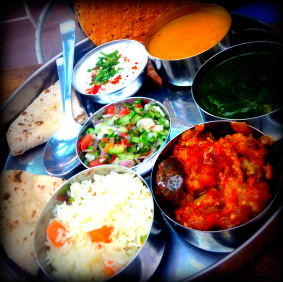 Veg Thali - Elegant and Sufficient