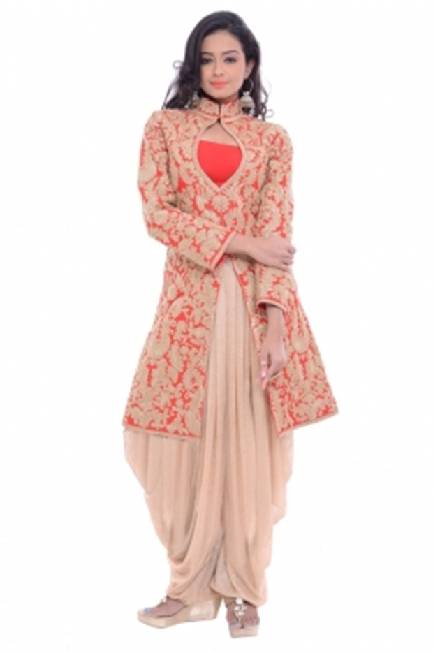 Ethnic Dukaan embroidered suit